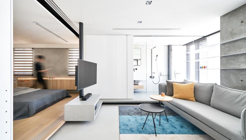Bố trí nội thất tối giản cho không gian sống an yên với diện tích nhỏ chỉ 50m2