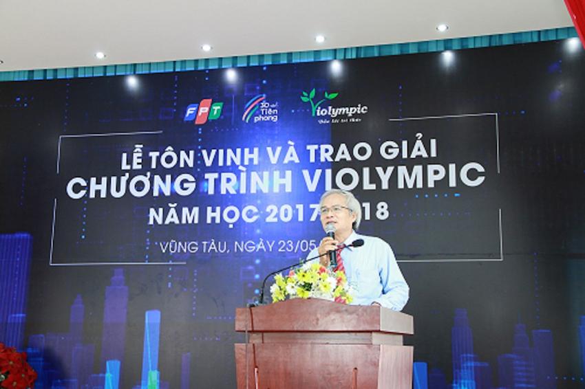 Lễ tôn vinh và trao giải Violympic 2017-2018