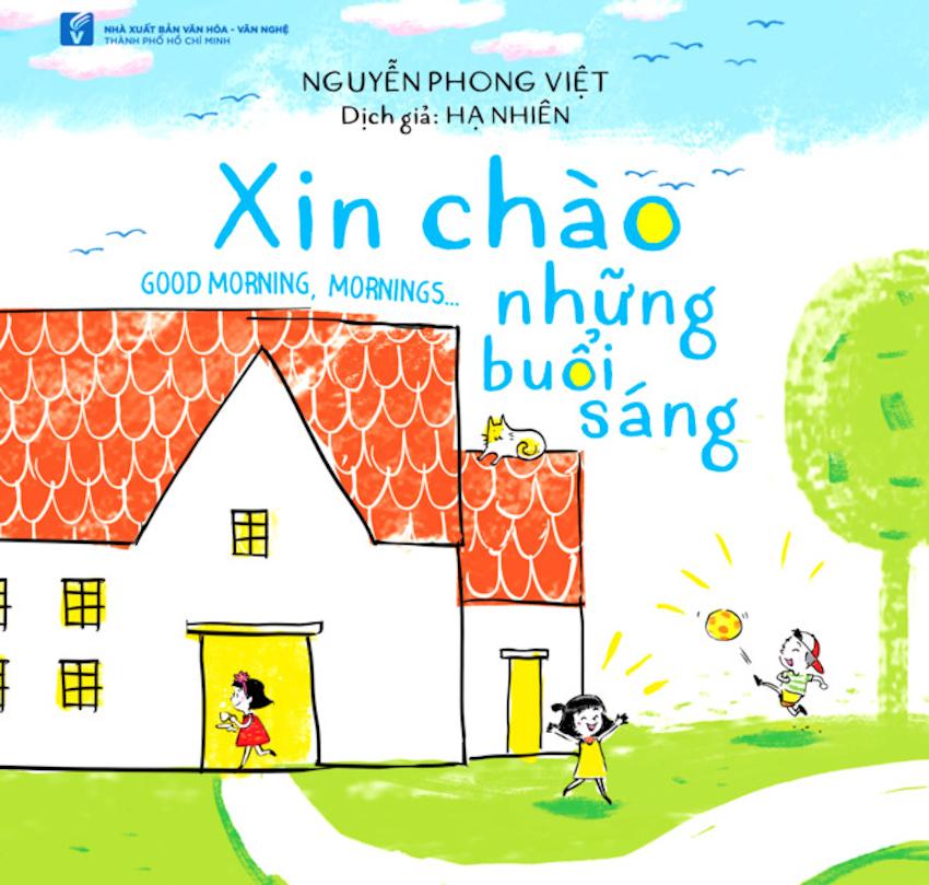 Nguyễn Phong Việt xuất bản thơ song ngữ có minh họa cho thiếu nhi