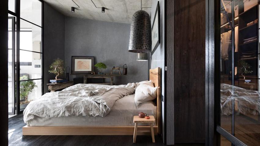 Nội thất căn hộ gia đình 175m2 pha trộn giữa kiến trúc Nhật Bản và Ukraina