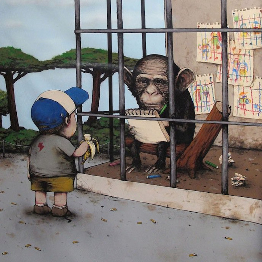 Vấn đề xã hội nhức nhối qua tranh biếm họa Pháp