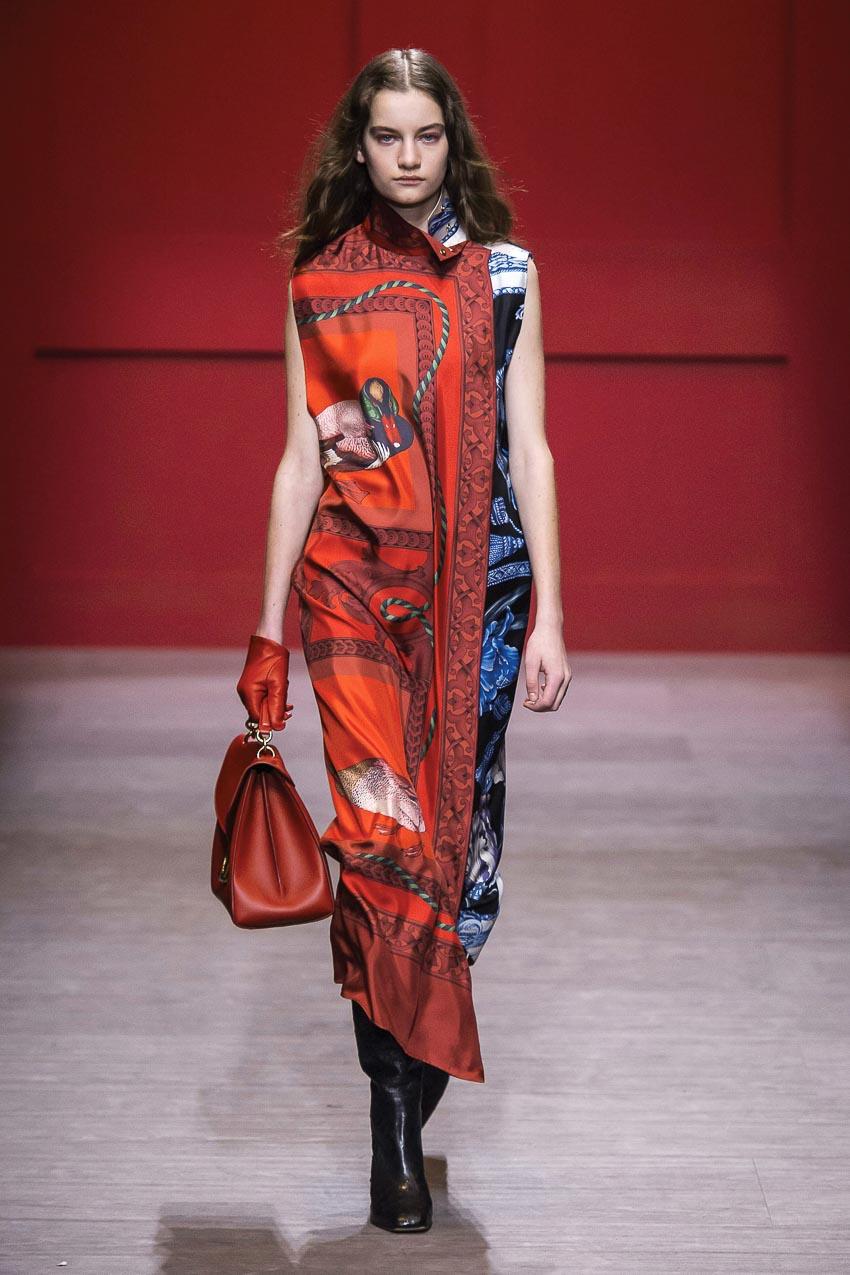 Bộ sưu tập Thu-Đông 2018 Salvatore Ferragamo làm sống dậy vẻ đẹp cổ điển