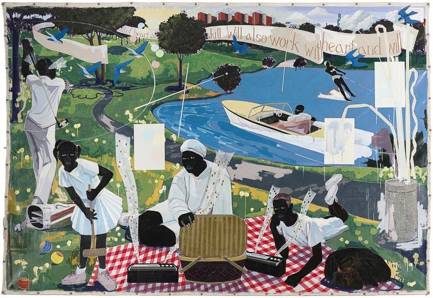 Kỷ lục về giá tranh của một họa sĩ da màu đương đại