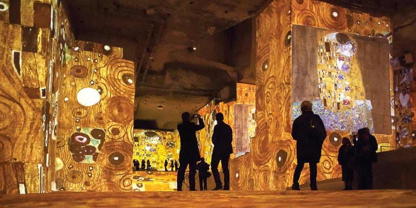 """Đi vào """"cõi Klimt"""" ở Paris"""