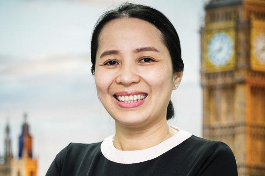 """Chị Phan Thị Ngọc Mai - Giám đốc điều hành SI-UK tại Việt Nam: """"Tự hào đem cơ hội du học Anh trong tầm tay cho học sinh, sinh viên Việt Nam"""""""