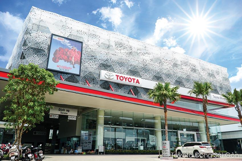 Trụ sở mới Toyota Đông Sài Gòn chính thức đi vào hoạt động