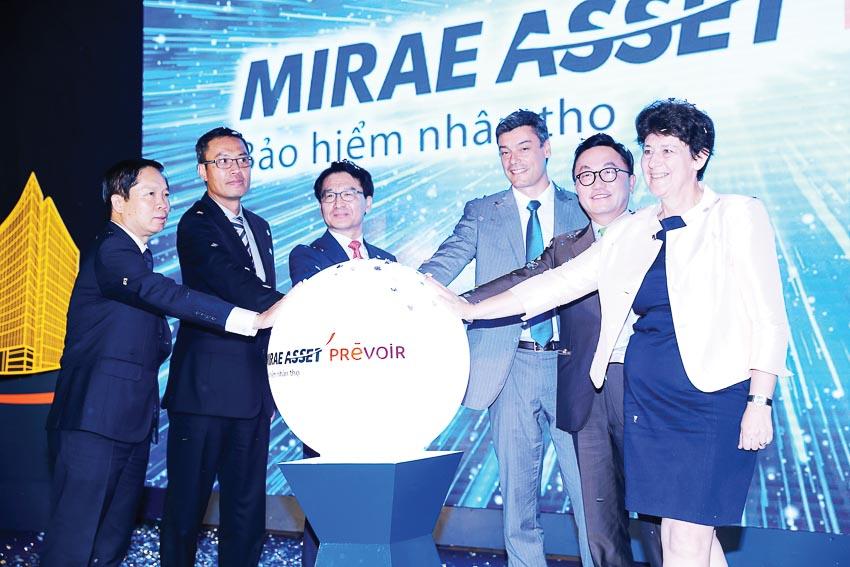 Thương hiệu mới Bảo hiểm Nhân thọ Mirae Asset Prévoir