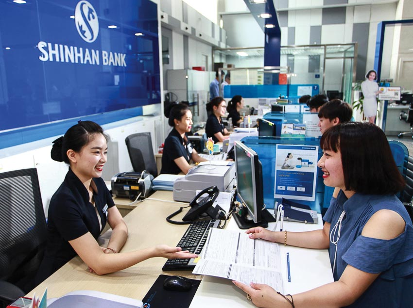 Các ngân hàng lớn của Hàn Quốc đang đẩy nhanh mở rộng kinh doanh tại Việt Nam