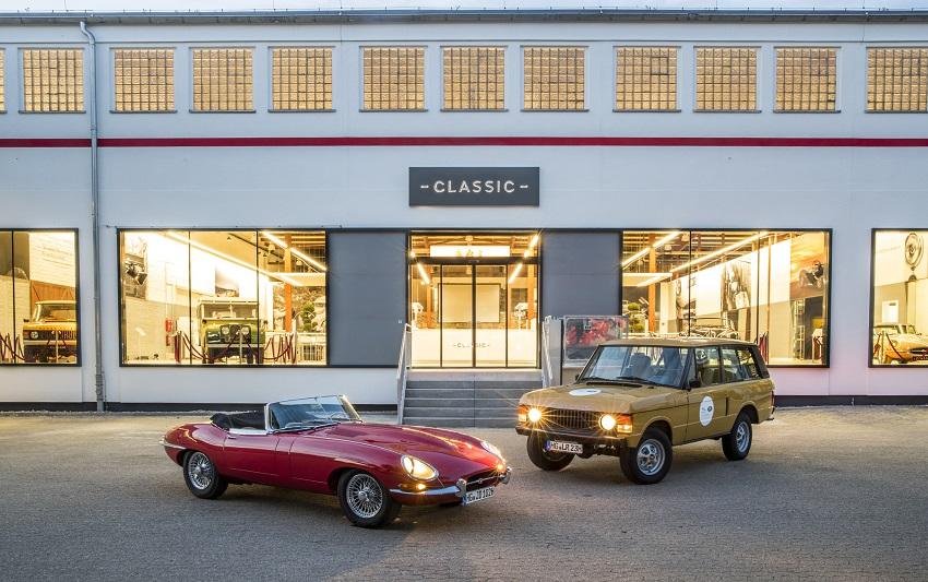 Jaguar Land Rover khai trương Trung tâm xe cổ tại Đức