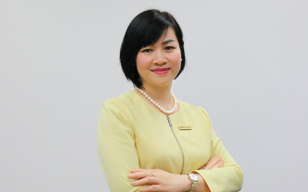 Sau khi rời Vingroup, bà Dương Thị Mai Hoa về làm sếp ABBANK - Ảnh 1.