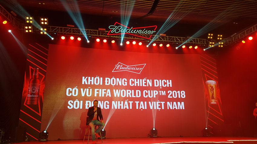 Budweiser khởi động chiến dịch cổ động World Cup 2018 tại Việt Nam