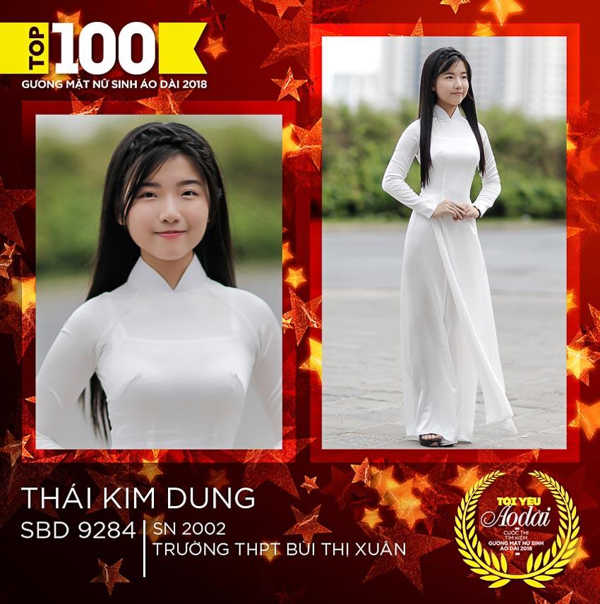 Công bố TOP 100 Gương mặt Nữ sinh Áo dài 2018