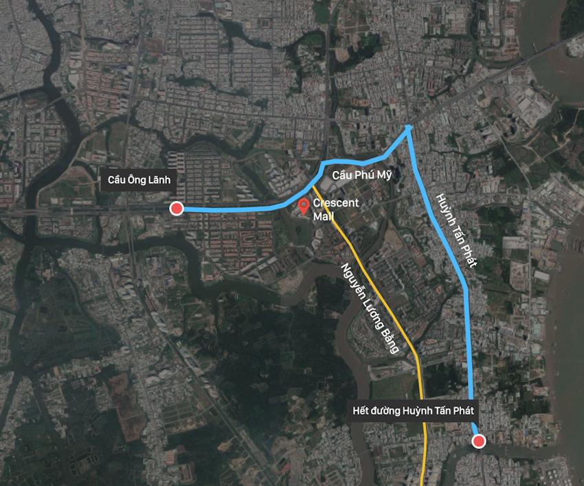 10 tuyến đường ở thành phố Hồ Chí Minh được đề xuất giảm tốc độ