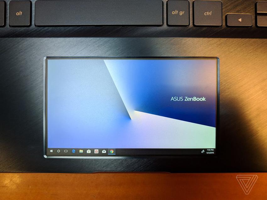 Asus ZenBook Pro chính thức trình làng với touchpad màn hình cảm ứng