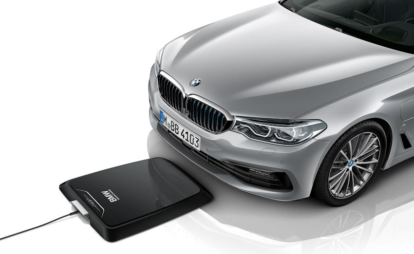 BMW cung cấp hệ thống sạc không dây cho xe động cơ điện từ tháng 7-2018
