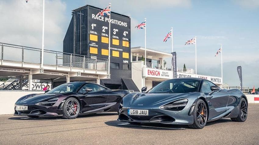 Dàn siêu xe khủng đổ bộ đường đua tại Anh quốc