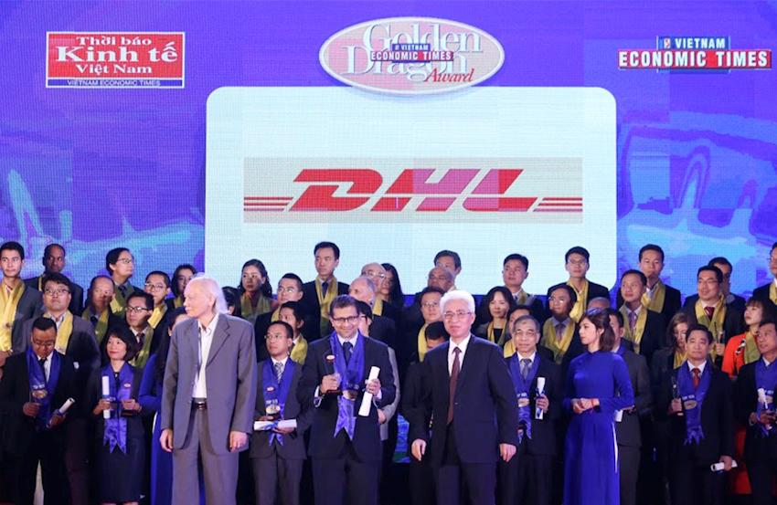 DHL Express đoạt được nhiều giải thưởng uy tín