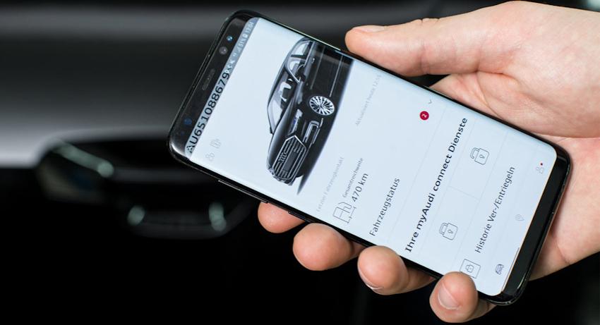 Smartphone sẽ thay thế chìa khóa xe trong tương lai gần