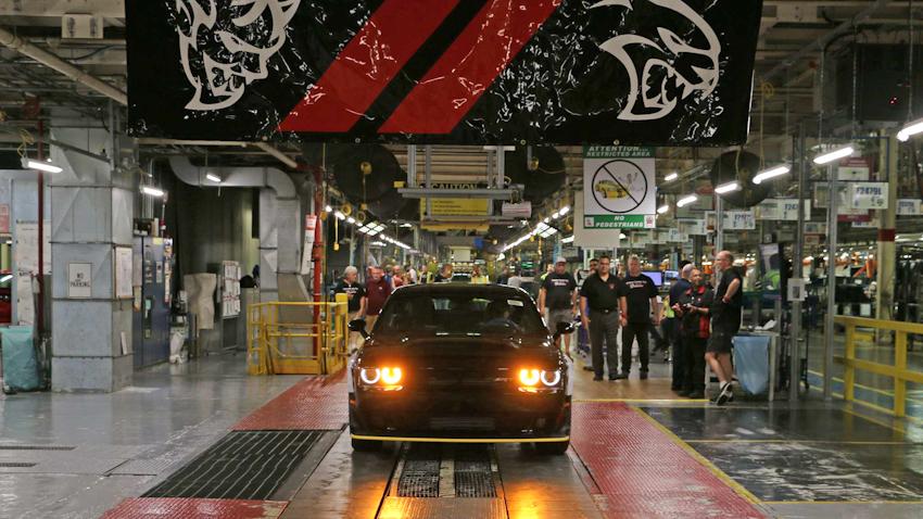 Chiếc Dodge Challenger SRT Demon 2018 cuối cùng xuất xưởng tại Canada