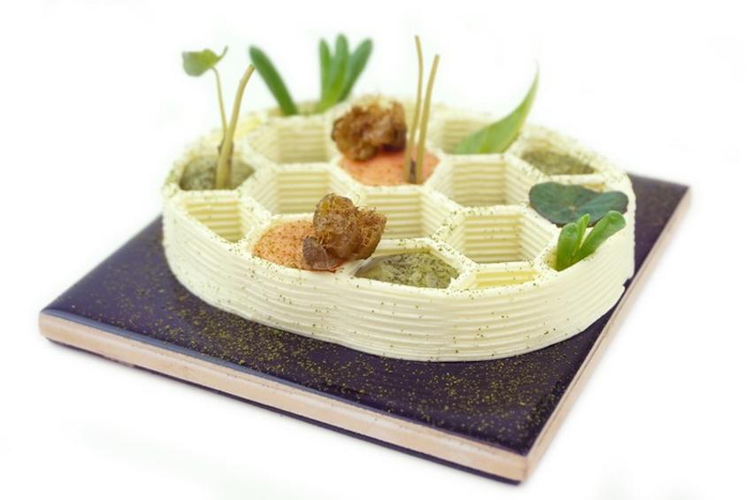 Sắp ra mắt nhà hàng cao cấp với món ăn 3D ở Hà Lan