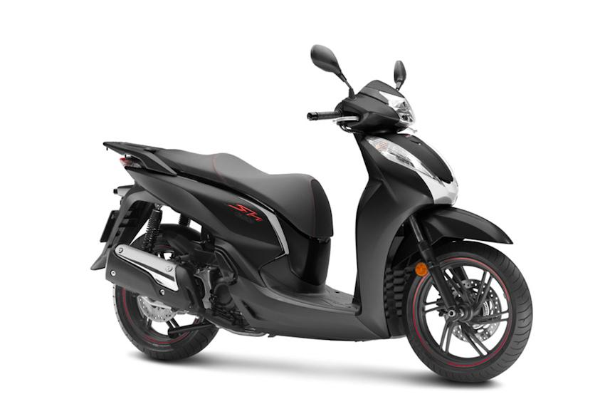 Honda SH300i có thêm cảm biến nhiệt độ, giá từ 269 triệu đồng