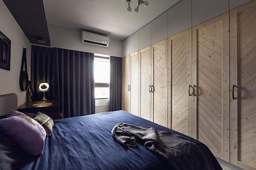 Nội thất căn hộ Hong's House mạnh mẽ không kém sang trọng với tông màu xám
