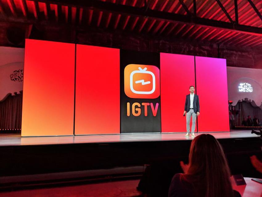 Instagram tung ứng dụng video mới IGTV
