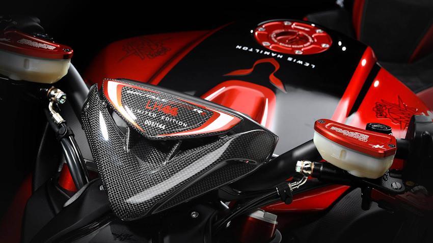 MV Agusta Brutale 800 RR phiên bản Lewis Hamilton chính thức ra mắt