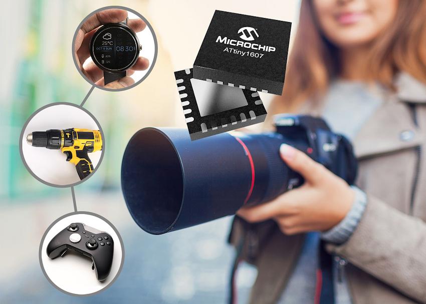 Microchip giới thiệu hai dòng vi điều khiển PIC và AVR mới