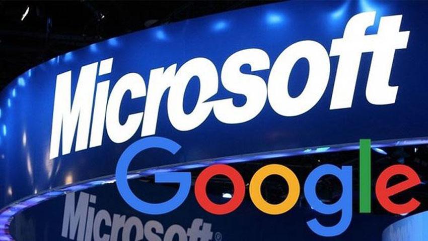 Microsoft lần đầu vượt Google về giá trị thị trường trong ba năm qua