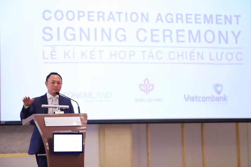 Quốc Lộc Phát, SonKim Land và Vietcombank ký kết thoả thuận hợp tác chiến lược phát triển dự án The Metropole Thủ Thiêm