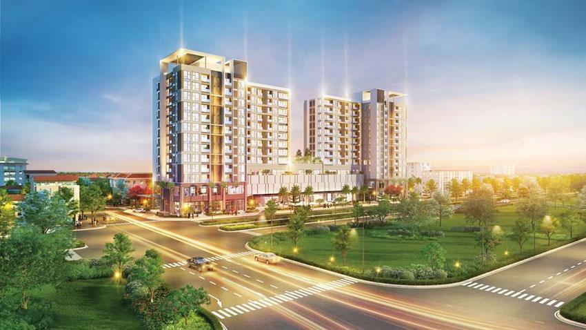 Urban Hill - công trình đầu tiên về nhà ở kết hợp khối thương mại của Phú Mỹ Hưng