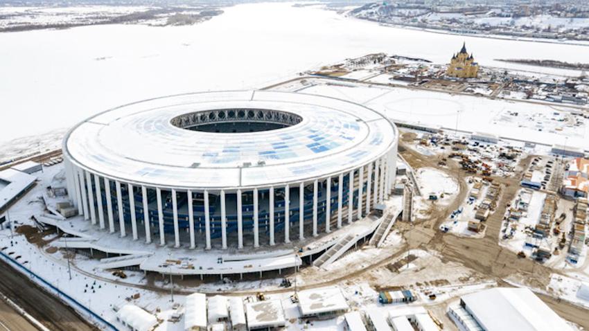 Cùng tham quan 12 sân vận động tổ chức World Cup 2018