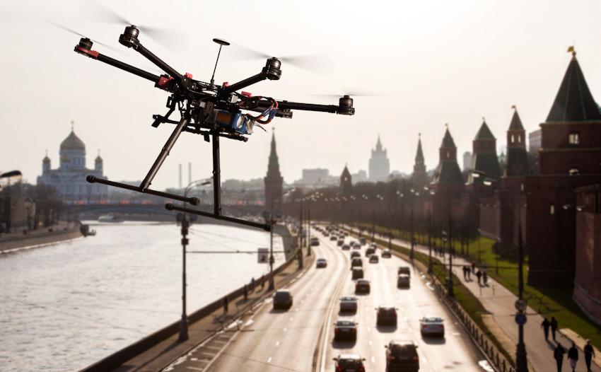 Bang Ohio, Mỹ thử nghiệm dùng drone để giám sát giao thông trên cao tốc