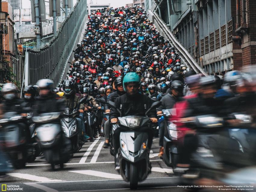 """""""Các thành phố"""" ấn tượng từ cuộc thi National Geographic 2018"""