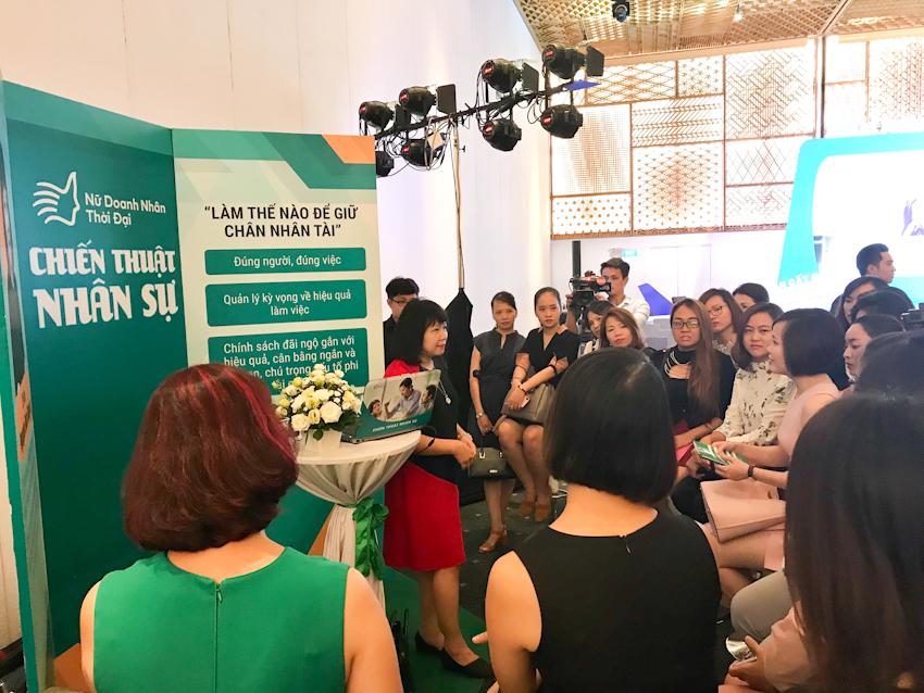 """Hàng trăm nữ doanh nhân tham dự tọa đàm """"Khai phóng tiềm năng nữ lãnh đạo"""""""