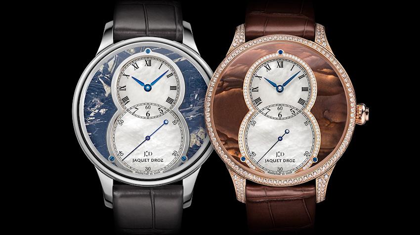 Jaquet Droz ra mắt đồng hồ chế tác từ đá khoáng kỷ niệm 280 năm thành lập