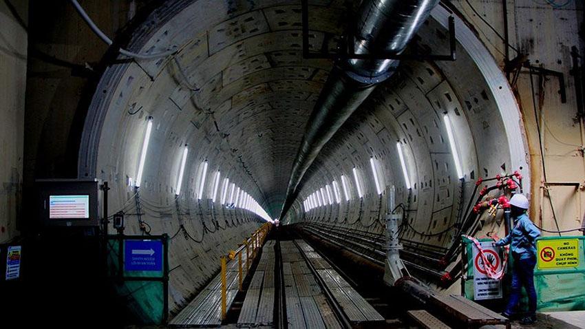 Hoàn thành đường hầm thứ 2 của tuyến metro Bến Thành – Suối Tiên