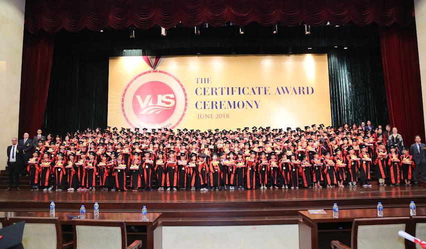 Đã có 106.210 học viên VUS nhận chứng chỉ quốc tế