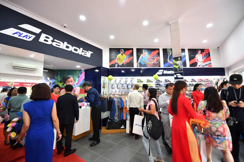 Khai trương cửa hàng Babolat Pro Shop đầu tiên tại VN