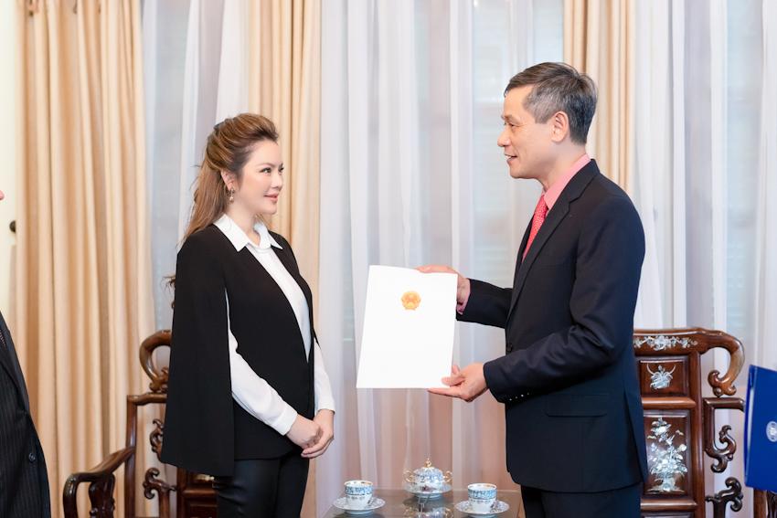 Lễ ra mắt lãnh sự danh dự Rumani tại TP.HCM