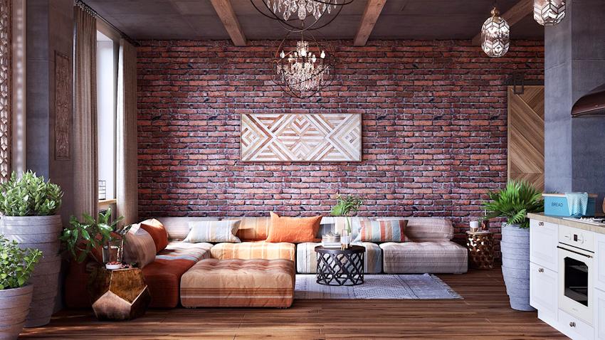 Trẻ trung, tự do phóng khoáng với nội thất theo phong cách Bohemian