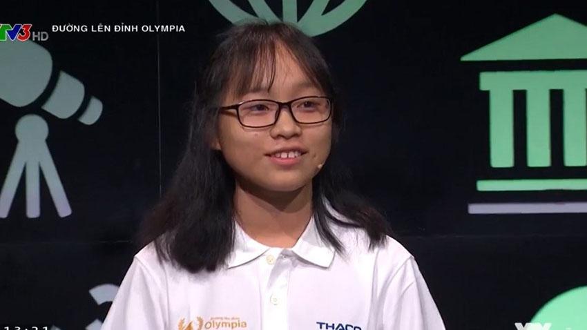 Nữ sinh đầu tiên phá kỷ lục Đường lên đỉnh Olympia trong suốt 18 năm