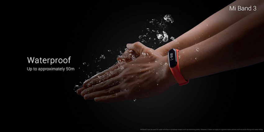 Vòng tay thông minh Xiaomi Mi Band 3: Pin 20 ngày, màn hình OLED, tầm giá 600.000 đồng