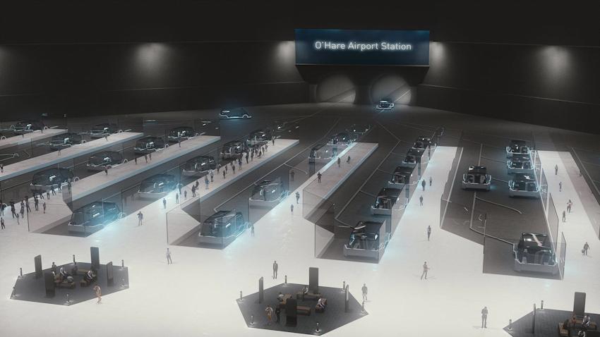 Xe buýt điện chạy dưới lòng đất của Elon Musk sắp triển khai, chạy 25km chỉ mất 12 phút