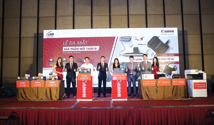 Anh Bill Đàm - Phó tổng giám đốc Công ty Canon Marketing Việt Nam: Chúng tôi có giải pháp giúp việc kinh doanh hiệu quả hơn