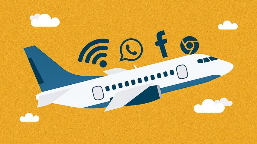 Wifi sẽ trở nên phổ biến trên các chuyến bay