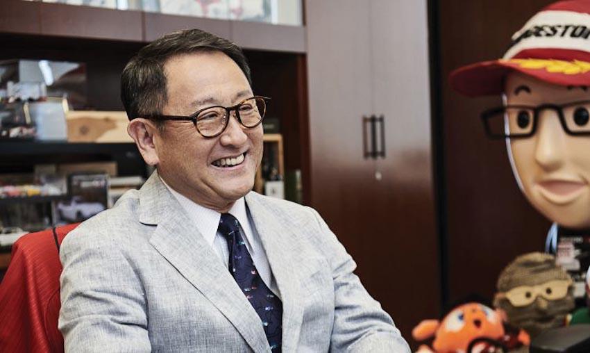Chủ tịch Toyota - Akio Toyoda được vinh danh với giải thưởng Issigonis Trophy