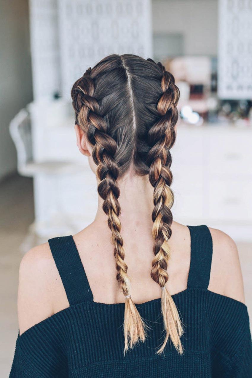 Những kiểu tóc đẹp cho ngày nắng nóng