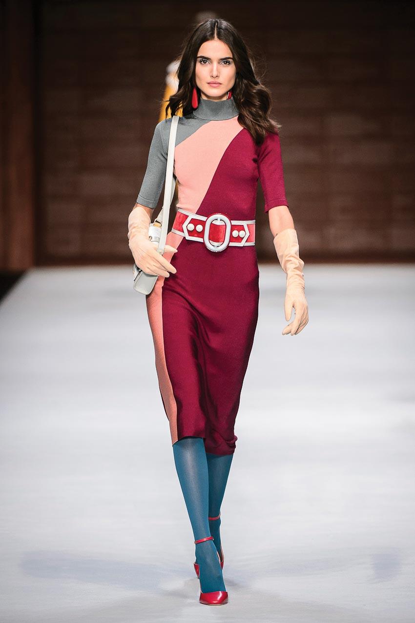 Bộ sưu tập Thu-Đông 2018 Elisabetta Franchi đầy quyến rũ